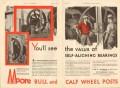 Lee C Moore Company 1931 Vintage Ad Oil Derrick Self-Aligning Bearing