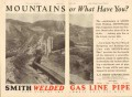 A O Smith Corp 1931 Vintage Ad Oil Line Pipe Mountain Field Welded Gas