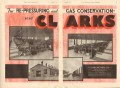 Clark Brothers Company 1931 Vintage Ad Oil Field Engines Re-Pressuring