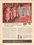 Allen-Bradley Company 1962 Vintage Ad Motor Starters Stainless Steel
