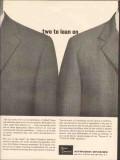 Allied Chemical 1962 Vintage Ad Two Lean Ethylene Glycol Ethanolamine