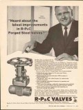 American Chain Cable 1962 Vintage Ad Oil R-Pc Forged Steel Valves