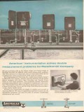 American Meter Company 1962 Vintage Ad Marathon Oil Rice Engineering