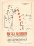american cyanamid company 1962 calco oil orange rnc dye vintage ad
