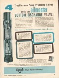 Armco Steel Corp 1962 Vintage Ad Pump Problems Solved Discharge Valve