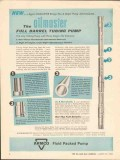 Armco Steel Corp 1962 Vintage Ad Oil Oilmaster Full Barrel Tubing Pump