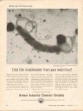 Armour Industrial Chemical Company 1962 Vintage Ad Evict Troublemaker