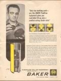 Baker Oil Tools Inc 1962 Vintage Ad Flexflow Variable Valve Shoes
