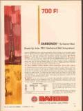 National Lead Company 1962 Vintage Ad Oil Baroid Mud Carbonox 700F
