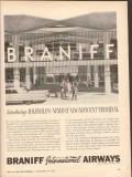 braniff international airways 1962 idlewild terminal jfk vintage ad