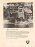 British Petroleum Company 1962 Vintage Ad Hannibal Updated Snowy Mt AU
