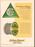 Broderick Bascom Rope Company 1962 Vintage Ad Oilfield Symbols Service