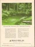 Brown Root Inc 1962 Vintage Ad Oil Solution National Problem Pollution