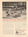 Cameron Iron Works 1962 Vintage Ad Oil Field Ball Valves Protection