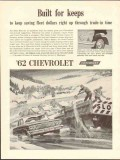 chevrolet 1962 built for keeps saving fleet dollar trade-in vintage ad