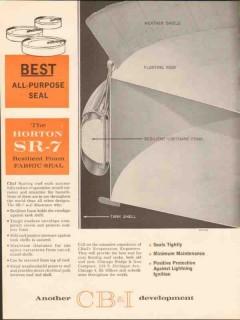 Chicago Bridge Iron Company 1962 Vintage Ad Oil Resilient Foam Fabric