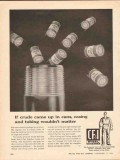 Colorado Fuel Iron Corp 1962 Vintage Ad Oil Crude Cans Casing Tubing