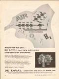 De Laval Turbine Inc 1962 Vintage Ad Oil Gas Compression Problems