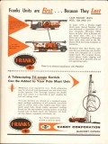 Cabot Corp 1962 Vintage Ad Franks Well Service Stanolind Oil Gas Co