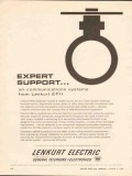 Lenkurt Electric Company 1962 Vintage Ad GTE Expert Support Systems