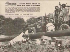 Hobart Brothers Company 1962 Vintage Ad Oil Sheehan Pipe Line Welding