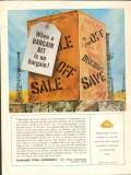 Hughes Tool Company 1962 Vintage Ad Oil Field Drilling Bargain Bit