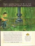 Hughes Tool Company 1962 Vintage Ad Oil Field Bit Cone Complete Data
