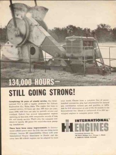 International Harvester Company 1962 Vintage Ad Engines Going Strong