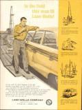 Lane-Wells Company 1962 Vintage Ad Oil Field Engineer Customer Link