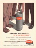 Larkin Packer Company 1962 Vintage Ad Oil Field Equipment Dependable