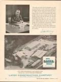 Latex Construction Company 1962 Vintage Ad Oil Field Pipeline Acquaint