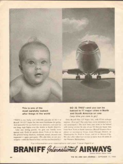 braniff international airways 1962 carefully looked-after vintage ad