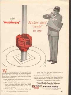 Baash-Ross Tool Company 1962 Vintage Ad Oil Mushroom Makes Good Cents