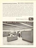 Bendix Corp 1962 Vintage Ad Computing System Humble Oil Refining G-20