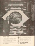 M J Valve Company 1962 Vintage Ad Oil M H Red Grove Improved Design