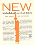 M W Kellogg Company 1959 Vintage Ad Orthoflow Crude Catalytic Cracking