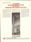 M W Kellogg Company 1962 Vintage Ad Oil Ethylene Engineered Beaumont