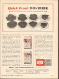 Magnet Cove Barium Corp 1962 Vintage Ad Oil Mud XP-20 Spersene Proof