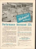 Marley Company 1962 Vintage Ad Oil Cooling Tower Performance Increased