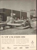 Petroleum Electric Power Assoc 1962 Vintage Ad Oil Modern Station A-OK