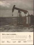 Petroleum Electric Power Assoc 1962 Vintage Ad Oil Pump View Economy