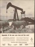 Petroleum Electric Power Assoc 1962 Vintage Ad Oil Dependable Utility