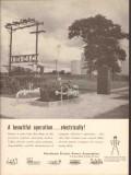 Petroleum Electric Power Assoc 1962 Vintage Ad Oil Beautiful Operation