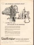 Philadelphia Gear Corp 1962 Vintage Ad Oil Limitorque Motorized Valves