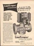 Philadelphia Gear Corp 1962 Vintage Ad Oil Limitorque Gas-Hydraulic