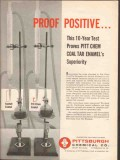 Pittsburgh Chemical Company 1962 Vintage Ad Oil Proof Positive Enamel
