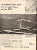 Pittsburgh-Des Moines Steel Company 1962 Vintage Ad Hamondflote Tanks