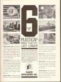Plastic Applicators Inc 1962 Vintage Ad Oil Plasticap Pipe Last Longer