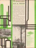 Procon Inc 1962 Vintage Ad Built Fifty-Three Petroleum Chemical Plants