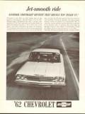 chevrolet 1962 jet-smooth ride top trade-in chevy fleet car vintage ad